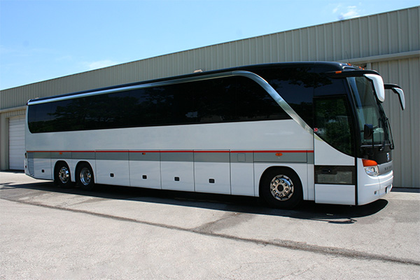 Washington 56 Passenger Charter Bus